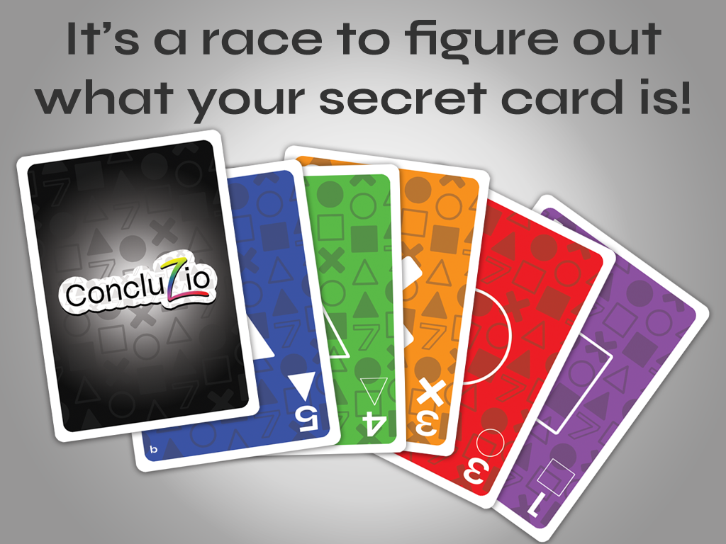 It's a race to guess your secret card!